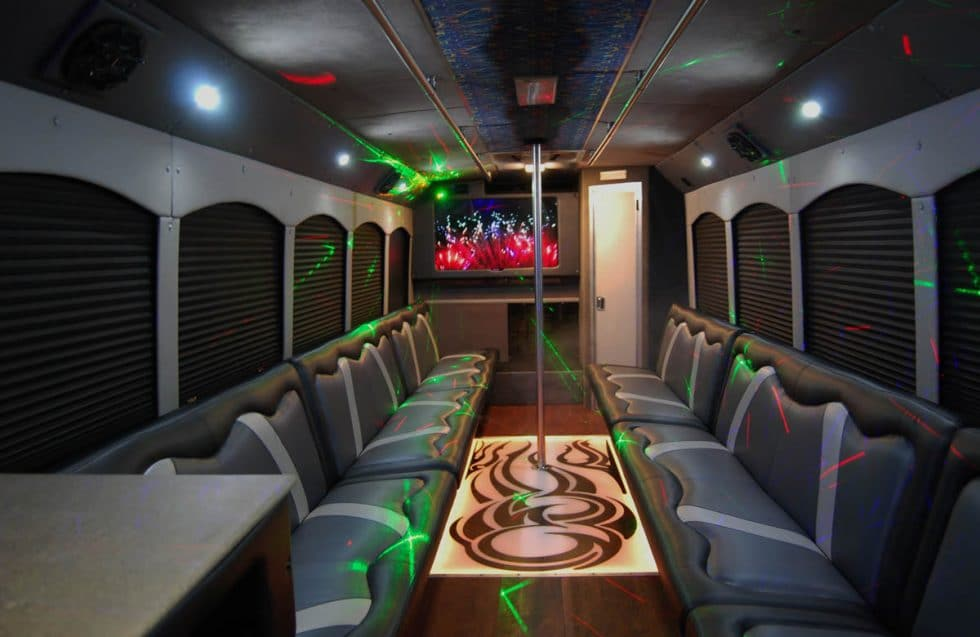 Black Beauty Party Bus