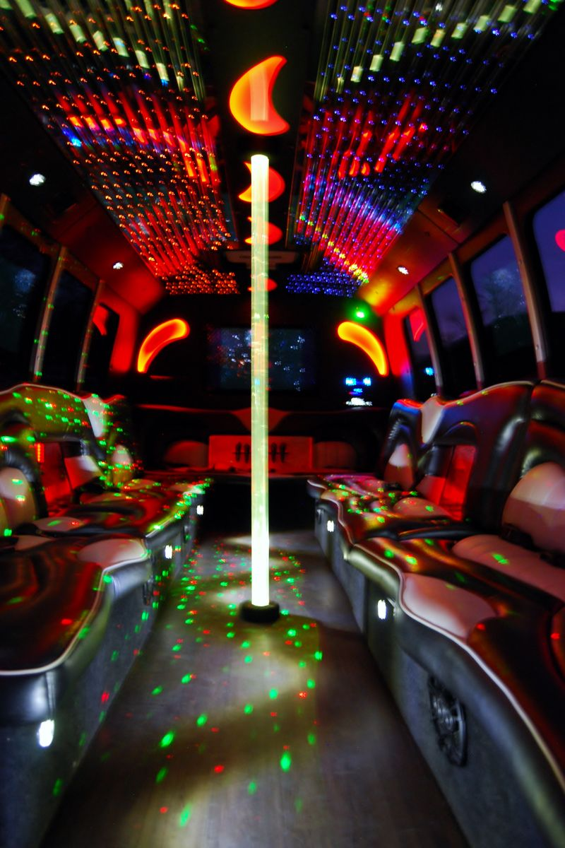 Black Diamond Party Bus