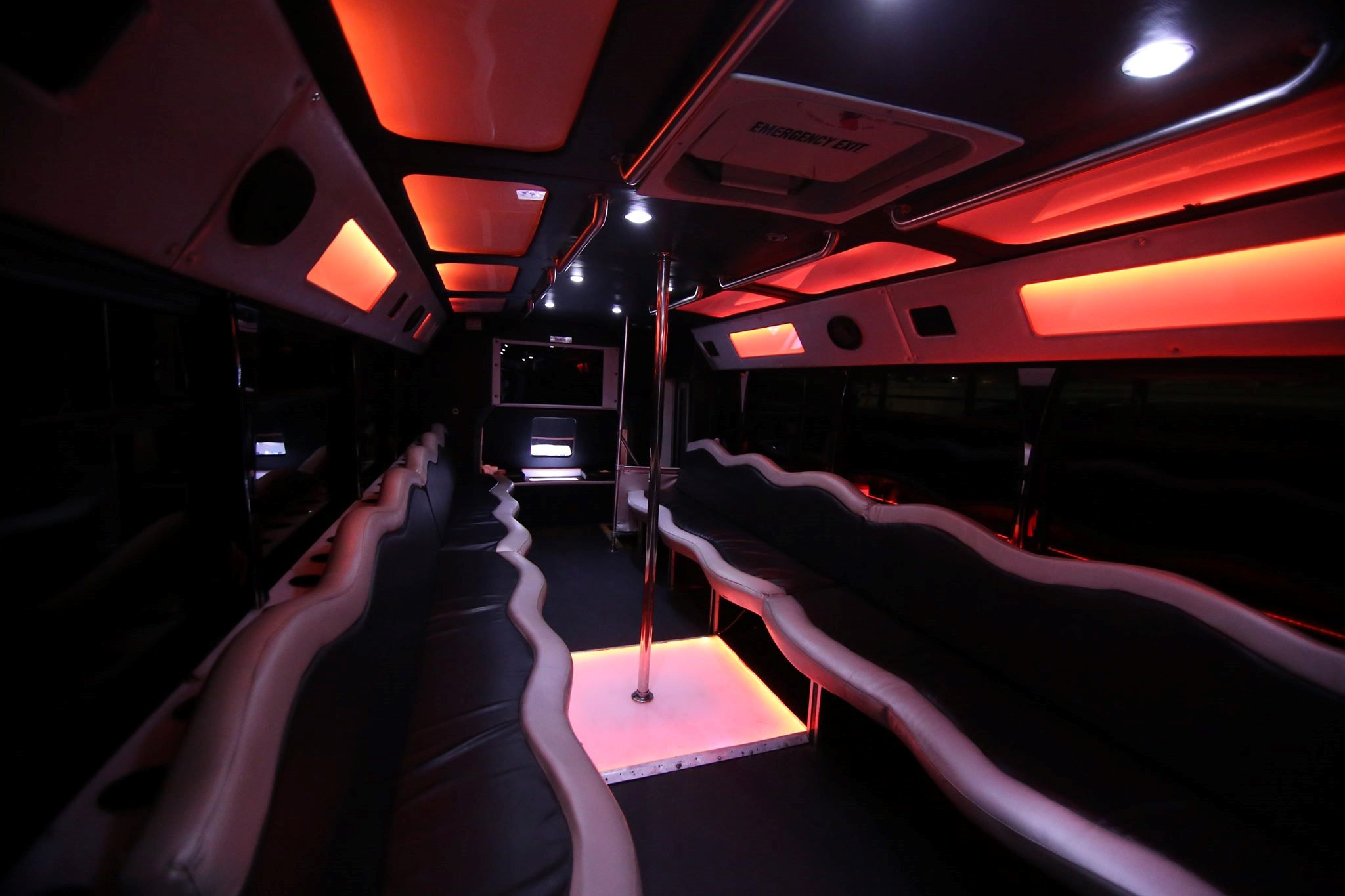 Black Shadow Party Bus