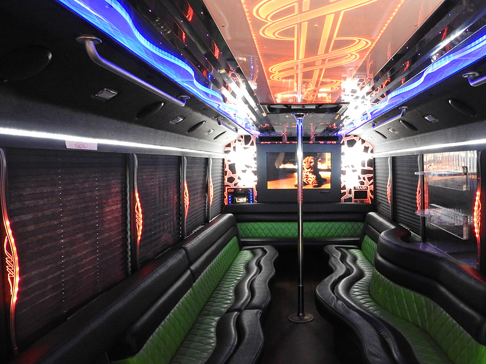 Celebrity Party Bus