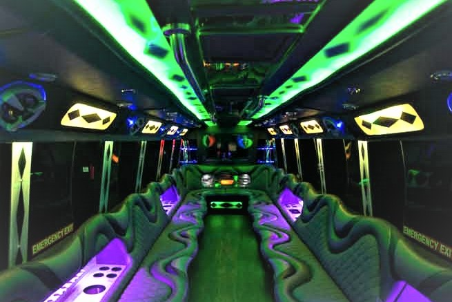 Presidential Party Bus