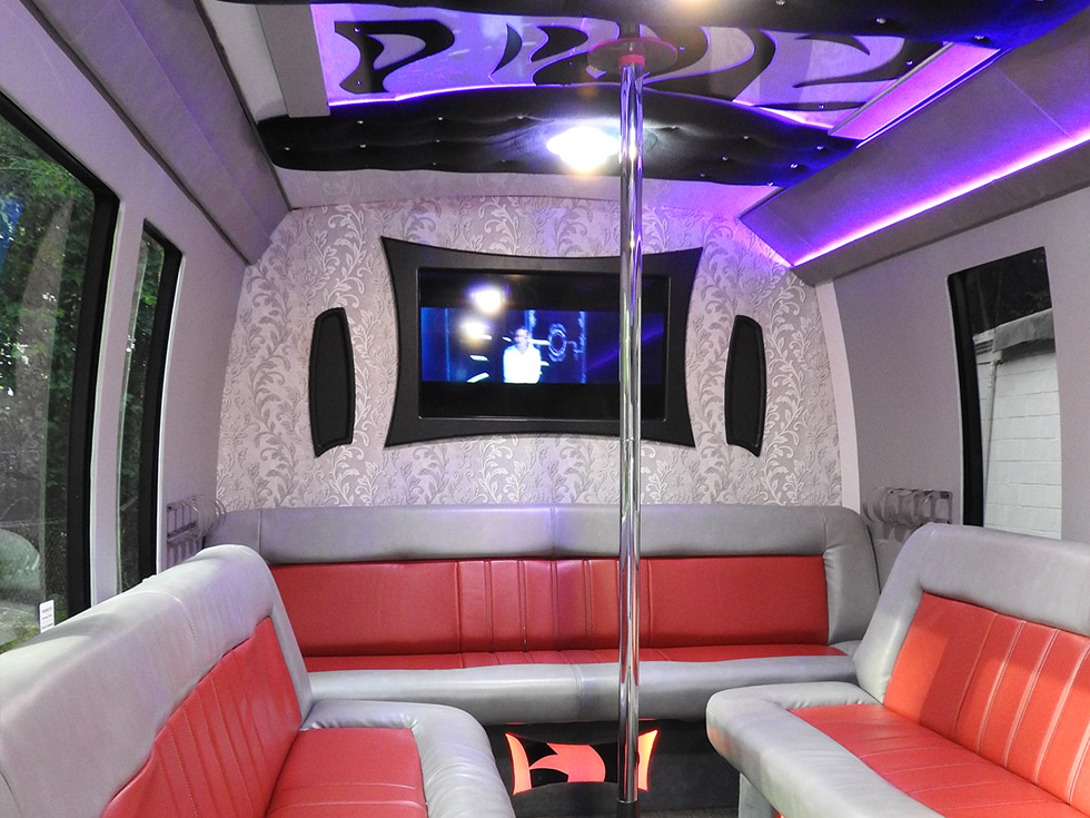 Princess Party Bus