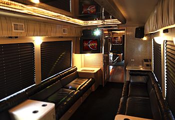 Rock N' Roll Party Bus