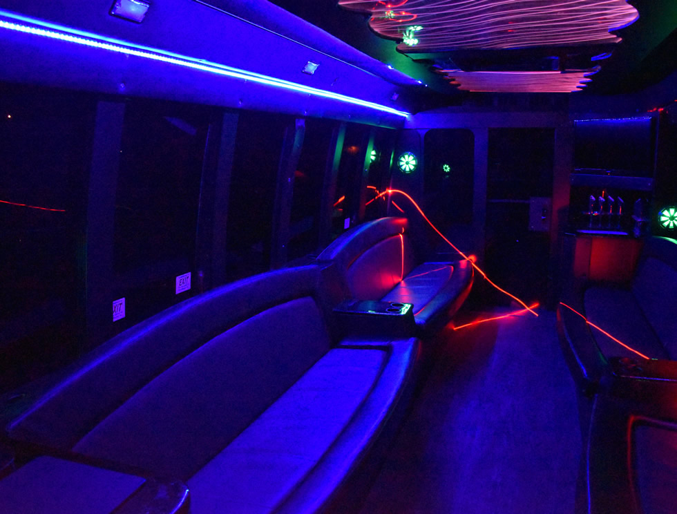 Silver Bullet Party Bus