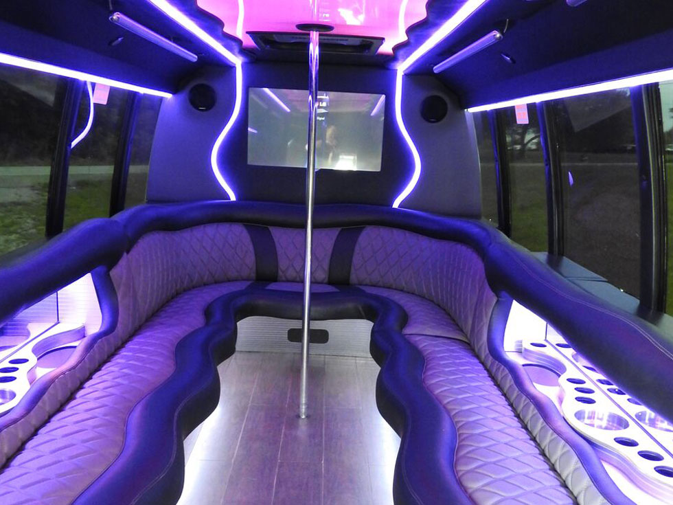 Silver Shadow Party Bus